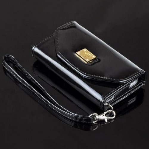 iPhone 4/4S Feid Purse, Tasje, Portemonnee Case Zwart