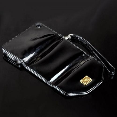iPhone 4/4S Feid Purse, Tasje, Portemonnee Case Zwart