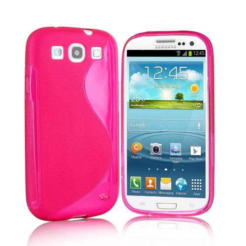 Samsung Galaxy S3 S Line Siliconen Hoesje Roze