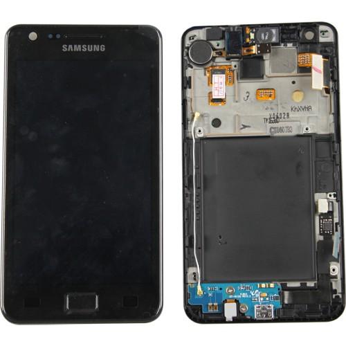 Samsung Galaxy S2 I9100 Scherm Display Module Origineel Zwart